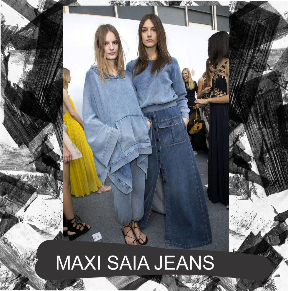 maxi saia jeans